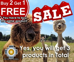 buy 2 get one , alpaca products incastreasures