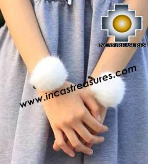 Alpaca Fur Souvenirs Elastic Rope Ponytail - 100% Baby Alpaca