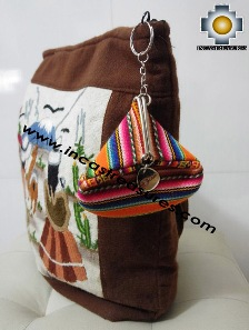 Exclusive Bayeta Purse Totora