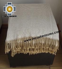 Alpaca Blanket pacha-mama  - Product id: alpacablanket15-03 Photo02