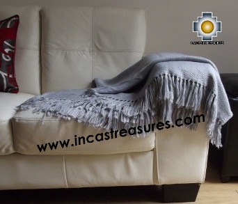Alpaca Blanket treasures  - Product id: alpacablanket16-06 Photo03