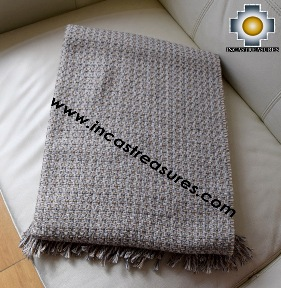 Alpaca Blanket valeriana
