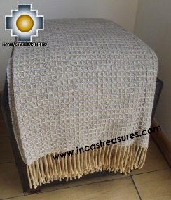 Alpaca Blanket yarawix  - Product id: alpacablanket15-05 Photo03