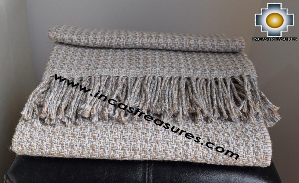 Alpaca Blanket valeriana  - Product id: alpacablanket16-02
