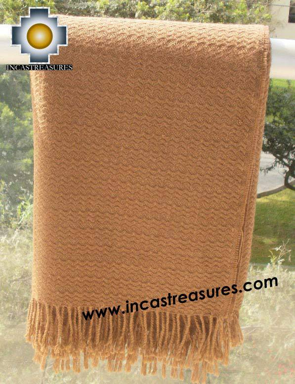 Alpaca Blanket yunka  - Product id: Alpacablanket10-05
