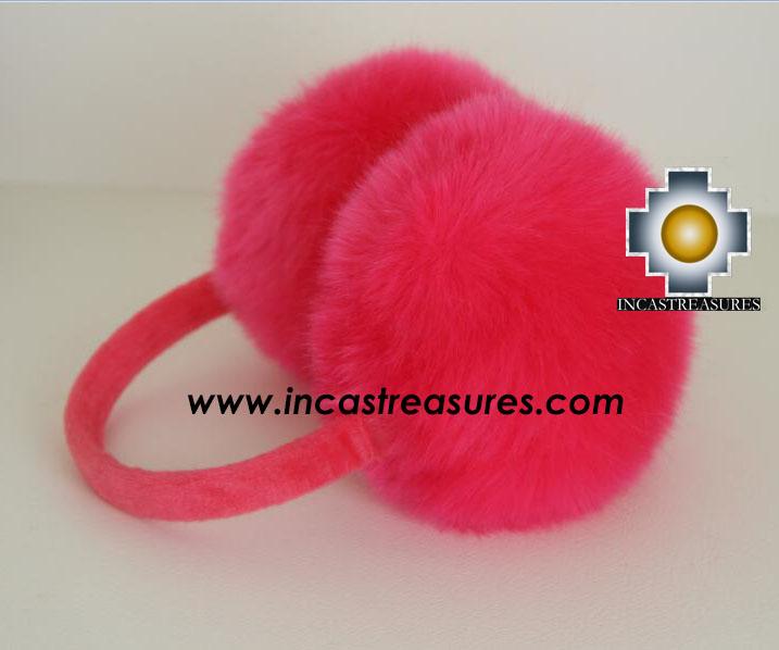 Alpaca Fur Ear Muffs - 100% Baby Alpaca