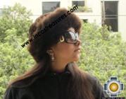 Alpaca fur hat cuajone brown - Product id: ALPACA-FUR-HAT-11-04 Photo01