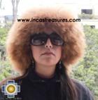 Alpaca fur hat cuajone camel - Product id: ALPACA-FUR-HAT-11-05 Photo01