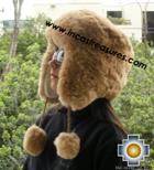 Alpaca fur hat earflaps chullo - Product id: ALPACA-FUR-HAT-11-06 Photo02