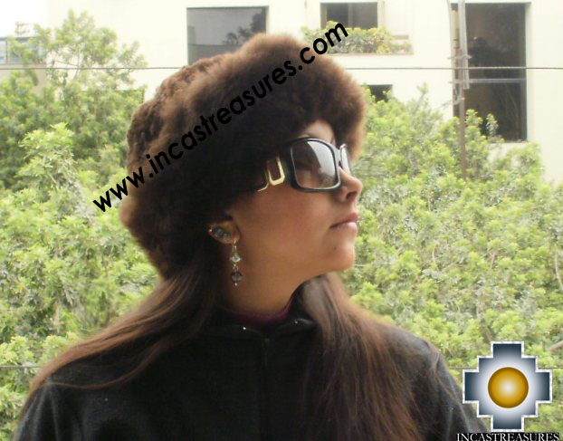 Alpaca Fur Hat Cuajone brown