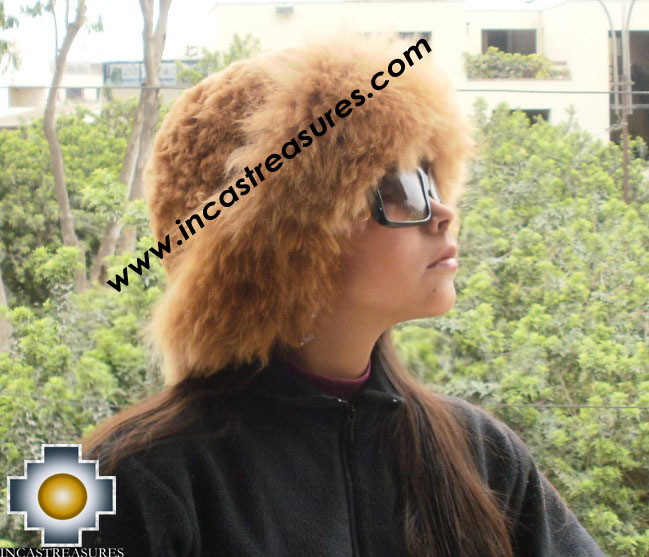 dd73752beccaf Alpaca fur hat cuajone camel - Product id  ALPACA-FUR-HAT-11