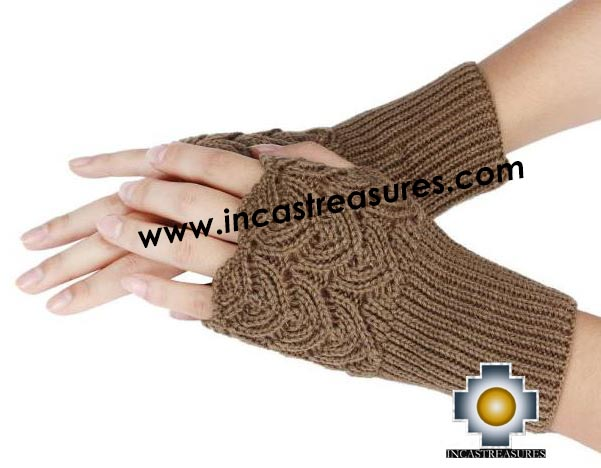 100% Alpaca Wool Fashion fingerless gloves - Product id: ALPACAGLOVES19-fashion-fingerless Photo03