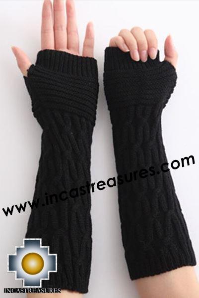 Alpaca Wool Andenes Wrist Warmers