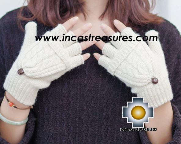 Alpaca Wool Fashion Mittens