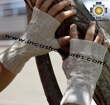 Baby Alpaca Wrist Warmers , KIT OF 10 ASSORTED