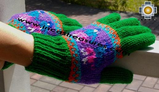 Alpaca Wool Handmade Gloves Cholito