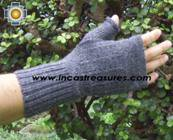 100% Alpaca Wool Mitts Solid Color - Product id: ALPACAGLOVES09-37 Photo04
