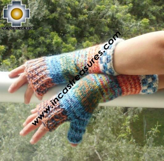 alpaca wool mittens gloves snowcone chunkahuhniyqanchis
