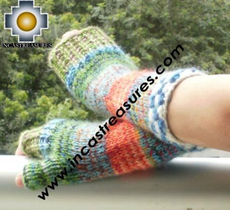 alpaca wool mittens gloves snowcone chunkahuhniytawa