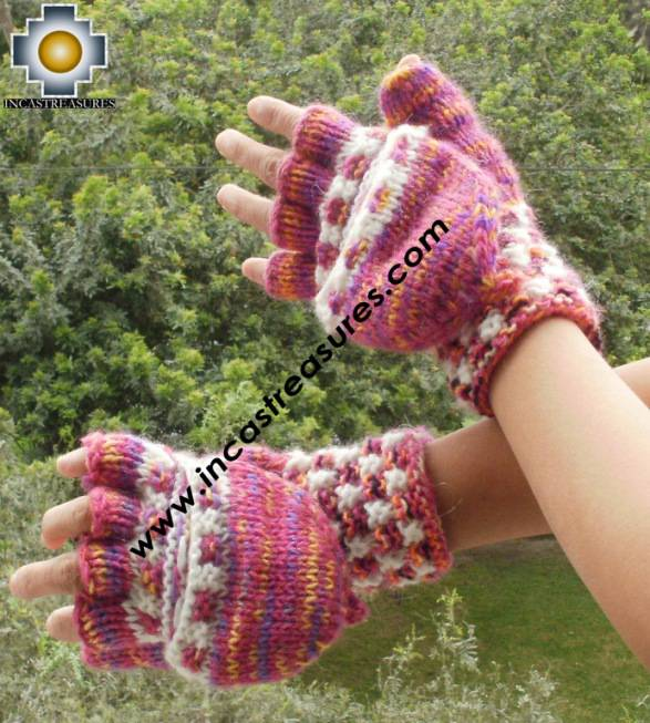 alpaca wool mittens gloves snowcone Iskay