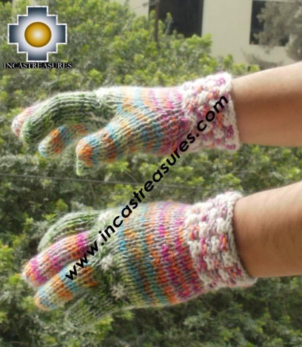 alpaca wool mittens gloves snowcone PUSAQ