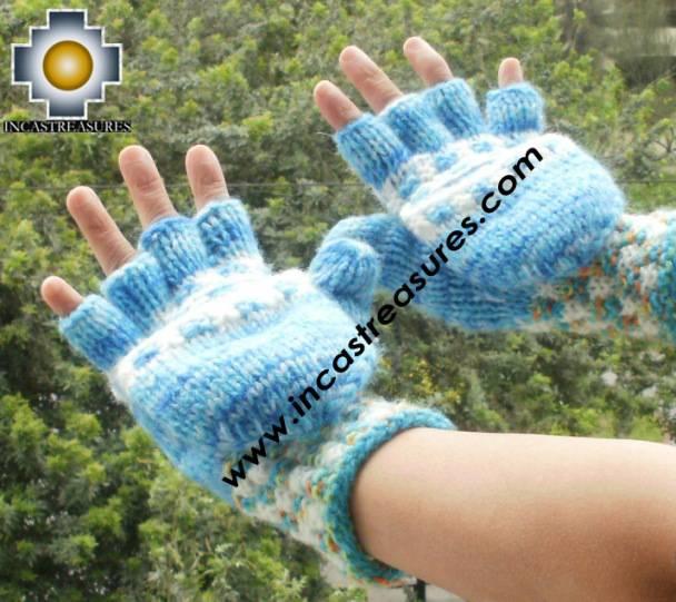 alpaca wool mittens gloves snowcone SOQTA