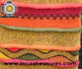 Alpaca Scarf with andenes antisuyo  - Product id: alpaca-scarf-07 Photo04
