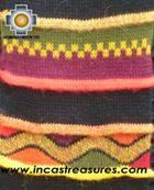 Alpaca Scarf with andenes collasuyo  - Product id: alpaca-scarf-08 Photo04
