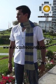 Alpaca Wool Scarf yapa  - Product id: alpaca-scarf-12 Photo03
