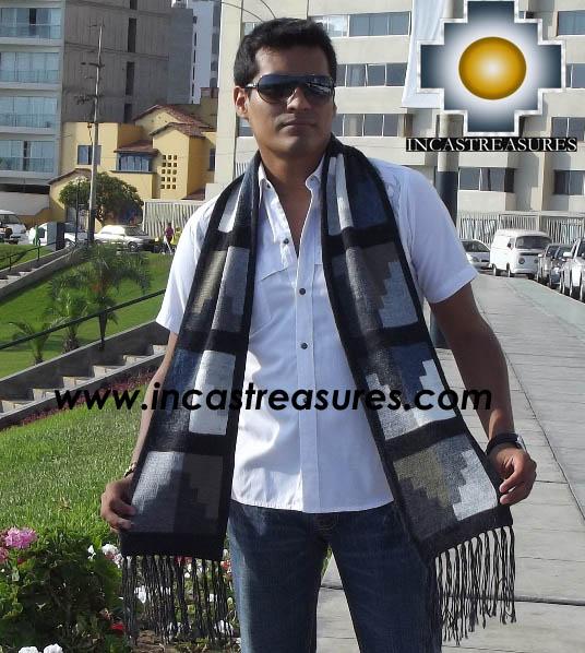 Alpaca Wool Scarf Yanapqio  - Product id: alpaca-scarf-11