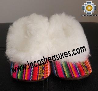 100% Baby Alpaca and Bayeta Slippers Princess for Babies
