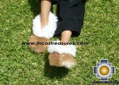 Baby Alpaca Slipper Camel ALPAMAYO - Product id: ALPACASLIPPERS09-01 Photo04
