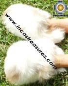 Baby Alpaca Slipper Spotted Ubinas - Product id: ALPACASLIPPERS09-04 Photo04