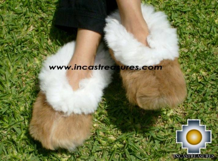 Wholesale Baby alpaca fur slippers