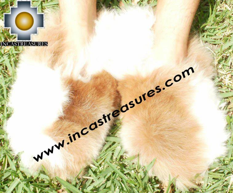baby alpaca slippers spotted-ubinas free shipping