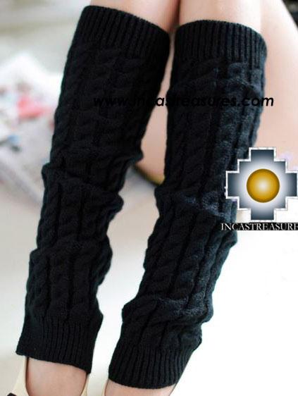 100% Alpaca Leg Warmers Ballerina - 100% ALPACA -