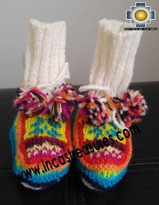 Children Handmade Alpaca Boots Yacu