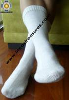 Long Alpaca Socks solid-color - Product id: ALPACASOCKS09-14 Photo03