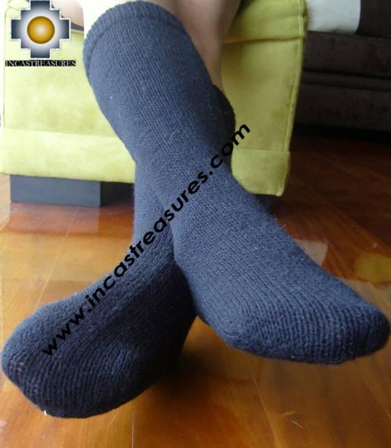 Long Alpaca Socks solid-color - Product id: ALPACASOCKS09-14