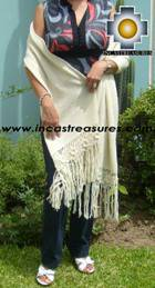 Baby Alpaca Shawl Ayar auca  - Product id: alpaca-shawl-03 Photo02
