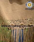 Baby Alpaca Shawl Ayar uchu  - Product id: alpaca-shawl-03 Photo03