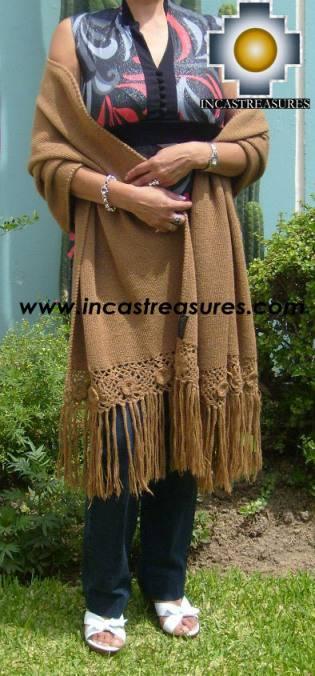 Baby Alpaca Shawl Ayar uchu  - Product id: alpaca-shawl-03