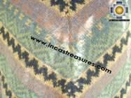 Alpaca Poncho short stripes UNISEX  - Product id: alpaca-poncho09-10 Photo02