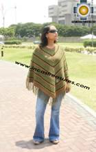 Andean Poncho Hualhua qusqu UNISEX  - Product id: ANDEAN-PONCHO09-01 Photo01