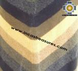 Alpaca Poncho short stripes UNISEX  - Product id: ALPACA-PONCHO09-05 Photo02