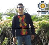 100% alpaca wool sweater for men COCO  - Product id: mens-alpaca-sweater12-01 Photo02