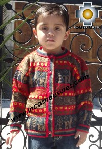 100% Alpaca Children Sweater Camotito  - Product id: children-sweater13-01 Photo03
