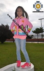 100% Alpaca Children Sweater with Hood sol  - Product id: children-sweater17-02 Photo01