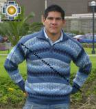 100% Alpaca Men Sweater Clouds- Product id: MENS-SWEATER09-02 Photo01