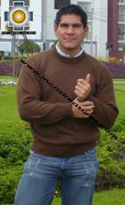 100% Baby Alpaca Sweater Crew Neck  - Product id: MENS-BABY-ALPACA-SWEATER09-09 Photo03